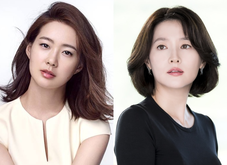 Lee Yo-Won and Lee Young-Ae