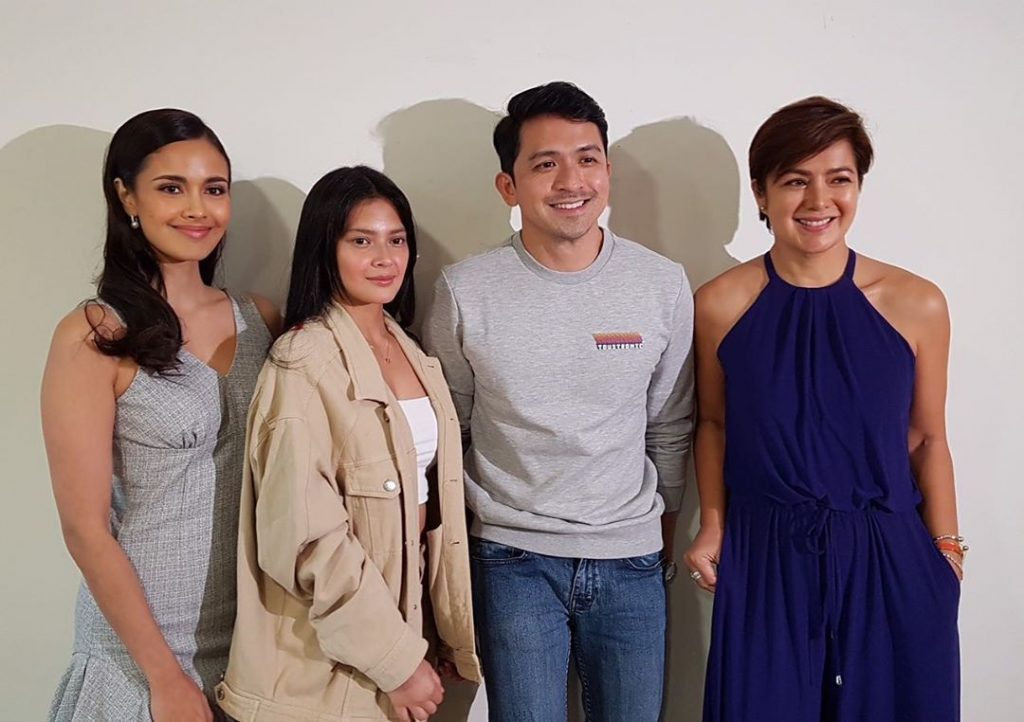 Miss World 2013 Megan Young with Legal Wives co-actors